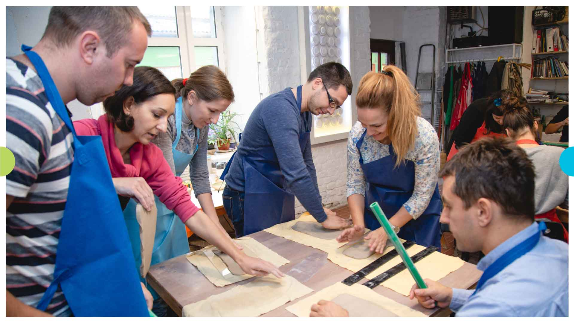 Smart Vision Teambuilding – Making Ceramic Products 1