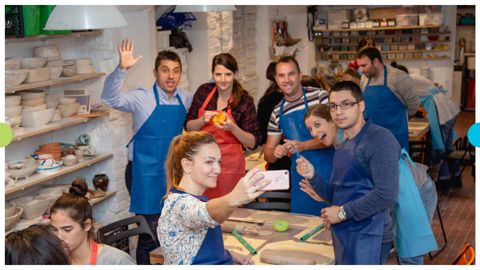 Smart Vision Teambuilding – Making Ceramic Products 3