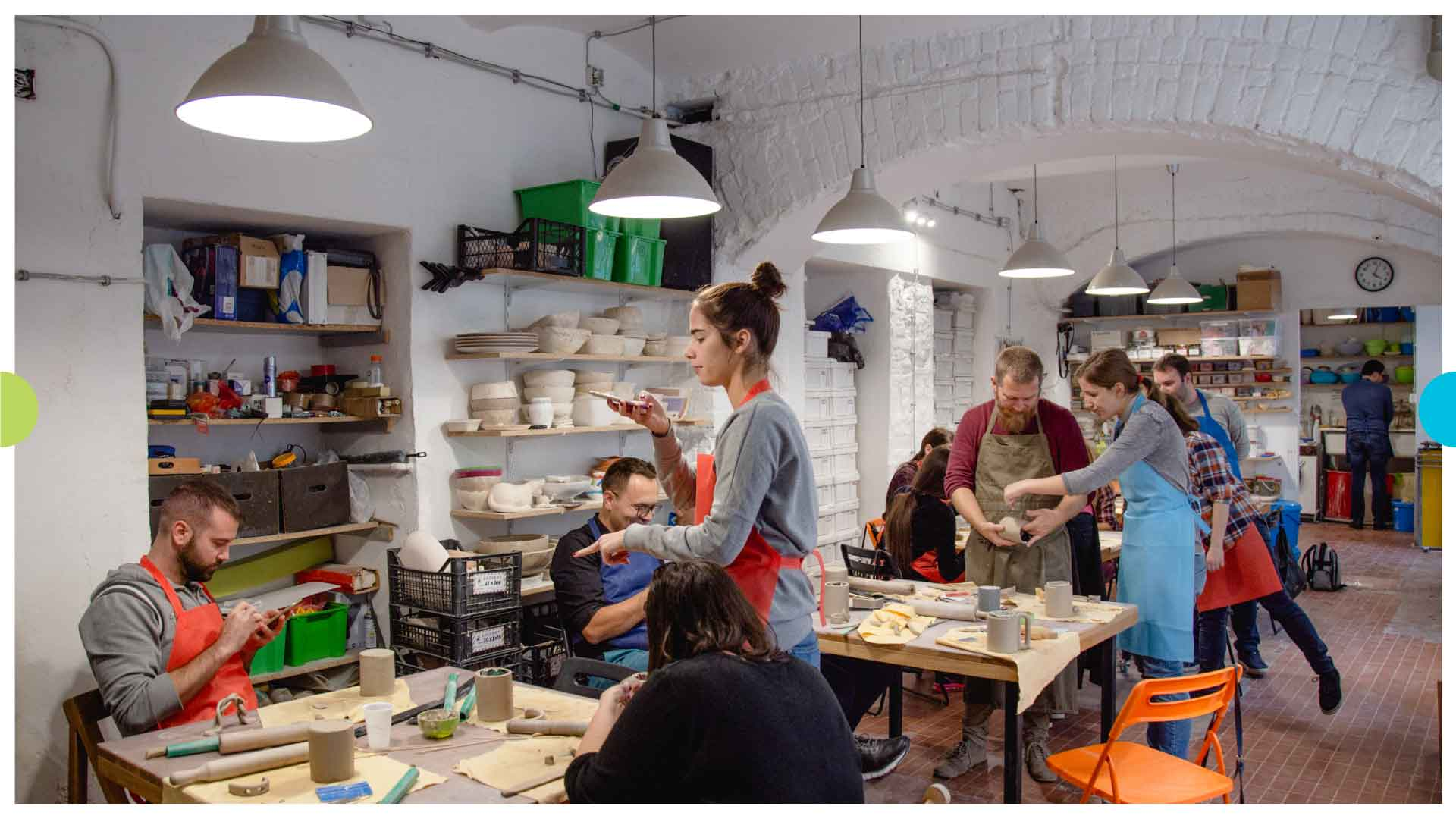 Smart Vision Teambuilding – Making Ceramic Products 6