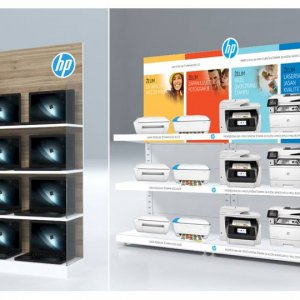 HP branding in local retail chains<br/> <br/>