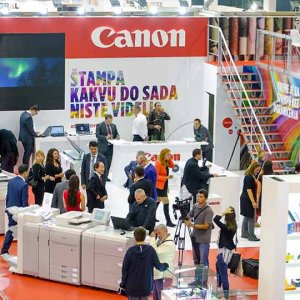 Canon at the 38th GRAFIMA International Fair