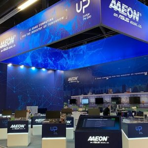 AAEON Design and stand building at Embedded World - Nuremberg