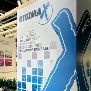 DIGIMAX company on LUMI EXPO, Bologna, Italy