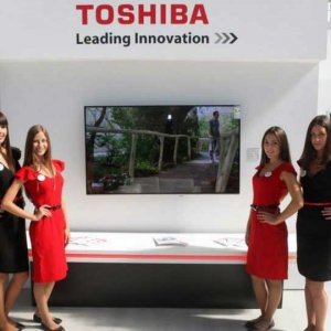 Toshiba <br /> at the CE&HA Fair