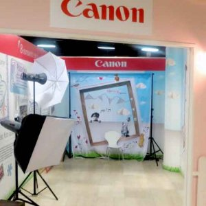 Canon at the Interactive Theme Park Miny City
