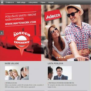 New Adecco<br />Website