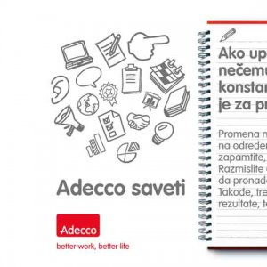 Adecco Serbia<br />  on the Social Networks
