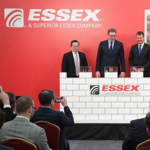 Essex Plant in Zrenjanin, ground-breaking ceremony, March 2018